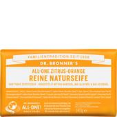 Dr. Bronner's - Körperpflege - All-One Zitrus-Orange Reine Naturseife