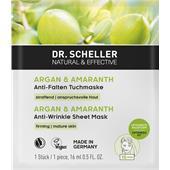 Dr. Scheller - Aceite de argán y amaranto - Mascarilla en hoja