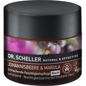 Dr. Scheller - Johannisbeere & Marula - Opfriskende fugtgivende pleje nat