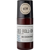 ECOOKING - Cream & Oil - Citrus, Violet & White Pepper Deo Roll-On