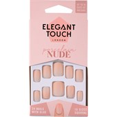 Elegant Touch - Artificial nails - Nails Nude Collection Porcelain