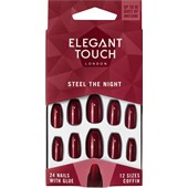 Elegant Touch - Kunstnägel - Polish Nails Steel the Night