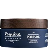 Esquire Grooming - Hair styling - The Pomade
