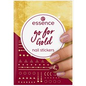 Essence - Accessoires - Nail Stickers Go For Gold