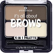 Essence - Augenbrauen - It's All About Brows 4in1 Palette