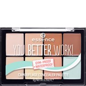 Essence - Concealer - You Better Work! Camouflage Concealer Palette