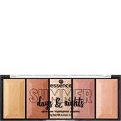 Essence - Highlighter - Summer Days & Nights Glowbar Highlighter Palette