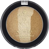 Essence - Highlighter - Sun. Sand. & Golden Rainbows.  Baked Multi Colour Highlighter