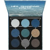 Essence - Eyeshadow - Water Eyeshadow Palette Like Swinging Waves