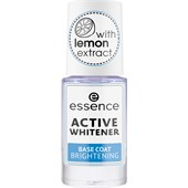 Essence - Lakier do paznokci - Active Whitener Base Coat Brightening
