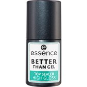 Essence - Lakier do paznokci - Better Than Gel Top Sealer High Gloss