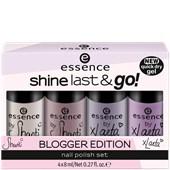 Essence - Nagellack - Blogger Edition Shanti & xLaeta Shine, Last & Go! Nail Polish Set
