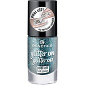 Essence - Esmalte de uñas - Glitter On Glitter Off Peel Off Nail Polish
