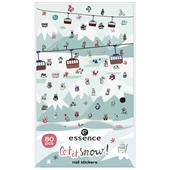 Essence - Nail Polish - Let It Snow Nail Stickers
