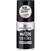 Essence - Nail Polish - Melted Chrome Sealing Top Coat