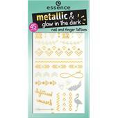 Essence - Nail Polish -  Nail And Finger Tattoos Metallic & Glow In The Dark