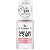 Essence - Lakier do paznokci - Repair & Care Base Coat Regenerating