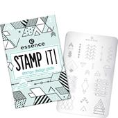 Essence - Nail Polish - Stamp It! Stampy Design Plate