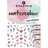 Essence - Nail Polish - Watercolour Nail Stickers