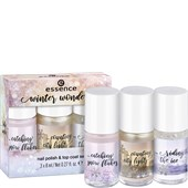 Essence - Esmalte de uñas - Winter Wonders Nail Polish & Top Coat Set
