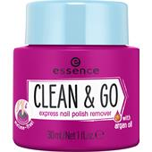 Essence - Neglepleje - Clean & Go Express Nail Polish Remover