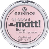 Essence - Pudder & rouge - All About Silky Matt! Fixing Compact Powder