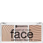 Essence - Puder & Rouge - Light Up Your Face Luminizer Palette
