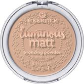 Essence - Powder & Rouge - Luminous Matt Bronzing Powder
