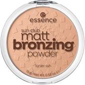 Essence - Bronzer - Sun Club Matt Bronzing Powder
