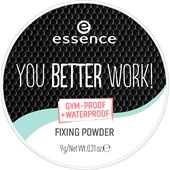 Essence - Pudr a tvářenka - You Better Work! Fixing Powder
