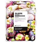Farmskin - Maskers - Superfood For Skin Balancing Sheet Mask Mangosteen
