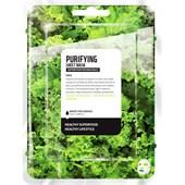 Farmskin - Maskers - Superfood For Skin Purifying Sheet Mask Kale