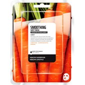 Farmskin - Maskers - Superfood For Skin Smoothing Sheet Mask Carrot