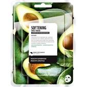 Farmskin - Maskers - Superfood For Skin  Softening Sheet Mask Avocado