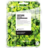 Farmskin - Maskers - Superfood For Skin Soothing Sheet Mask Green Tea