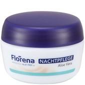 Florena - Gesichtspflege - Nachtpflege Aloe Vera
