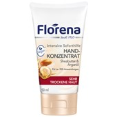 Florena - Hand care - Hand cream concentrate shea butter & argan oil