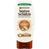 GARNIER - Wahre Schätze - Kokosmilch & Macadamia  Nährende Spülung