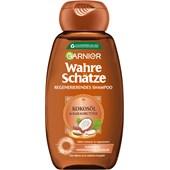 GARNIER - Wahre Schätze - Kokosöl & Kakaobutter Regenerierendes Shampoo