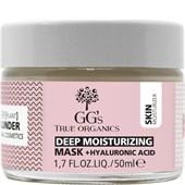 GG's True Organics - Masken - Feuchtigkeitsmaske
