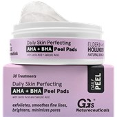 GG's True Organics - Cleansing - Daily Skin Perfecting AHA + BHA Peel Pads