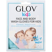 GLOV - Abschmink-Handschuh - Kids Face & Body Wash Gloves Blue