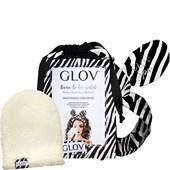 GLOV - Make-up remover glove - Ivory & Zebra Lahjasetti