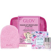 GLOV - Abschmink-Handschuh - Pink Geschenkset