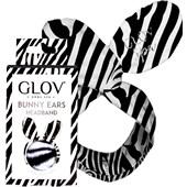 GLOV - Hair Cloths & Ribbons - Headband Bunny Ears Zebra