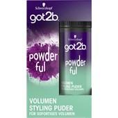GOT2B - Styling - Powderful Volumen Styling Puder (Halt 4)