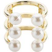 Gab & Ty by Jana Ina - Rings - Open Pearl Ring, gold plated