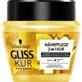Gliss Kur - Haarkur - Nährpflege 2-in-1 Kur
