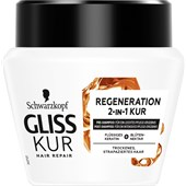 Gliss Kur - Haarkur - Total Repair 2-in-1 Regeneration Kur
