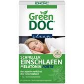 GreenDoc - Schlaf & Entspannung - Schneller Einschlafen Melatonin Forte